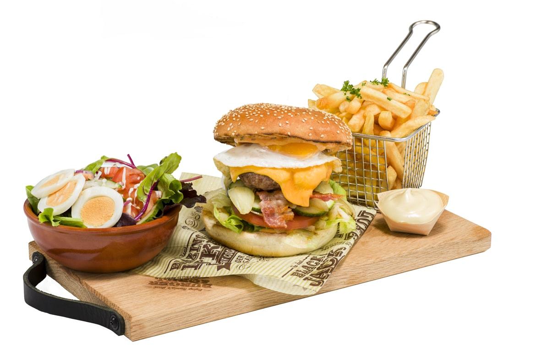 America Style Hamburger menu